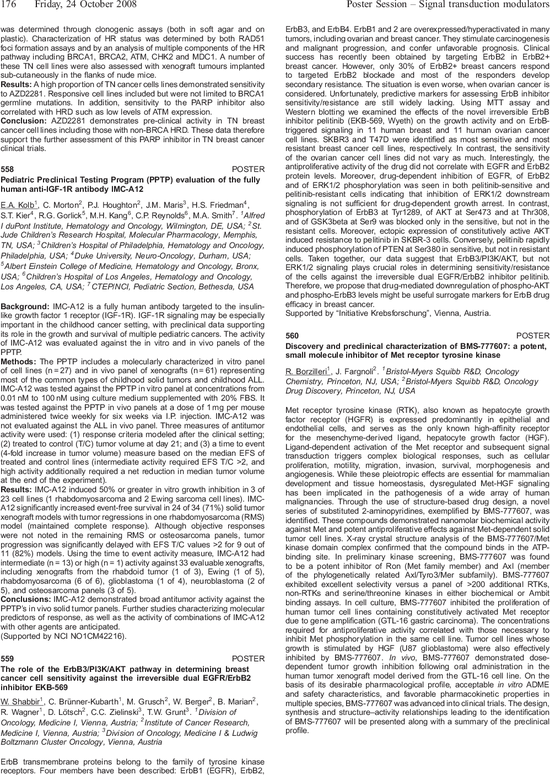 560 poster discovery and preclinical characterization of bms 777607