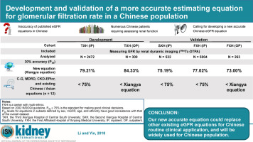 Development and validation of a more accurate estimating